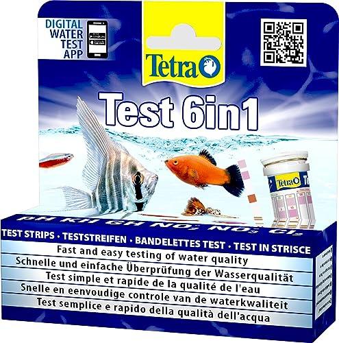 Tetra Test 6-in-1 Wassertest für das Aquarium