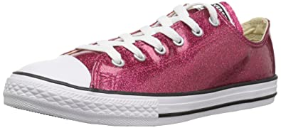 0ad88da21bb8 Converse Girls  Chuck Taylor All Star Glitter Low Top Sneaker