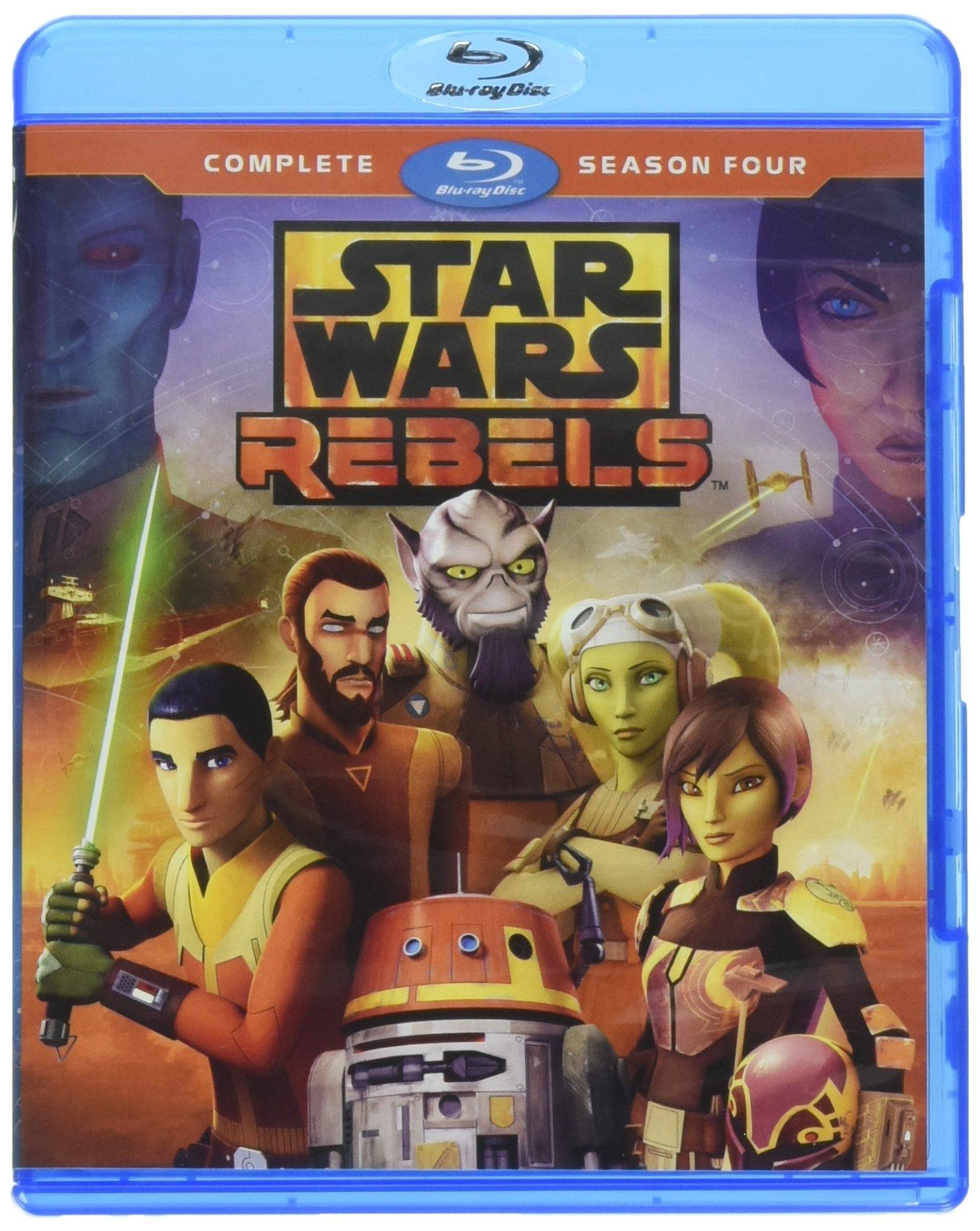 Blu-ray : Star Wars: Rebels Complete Season 4 (2 Pack, 2PC)