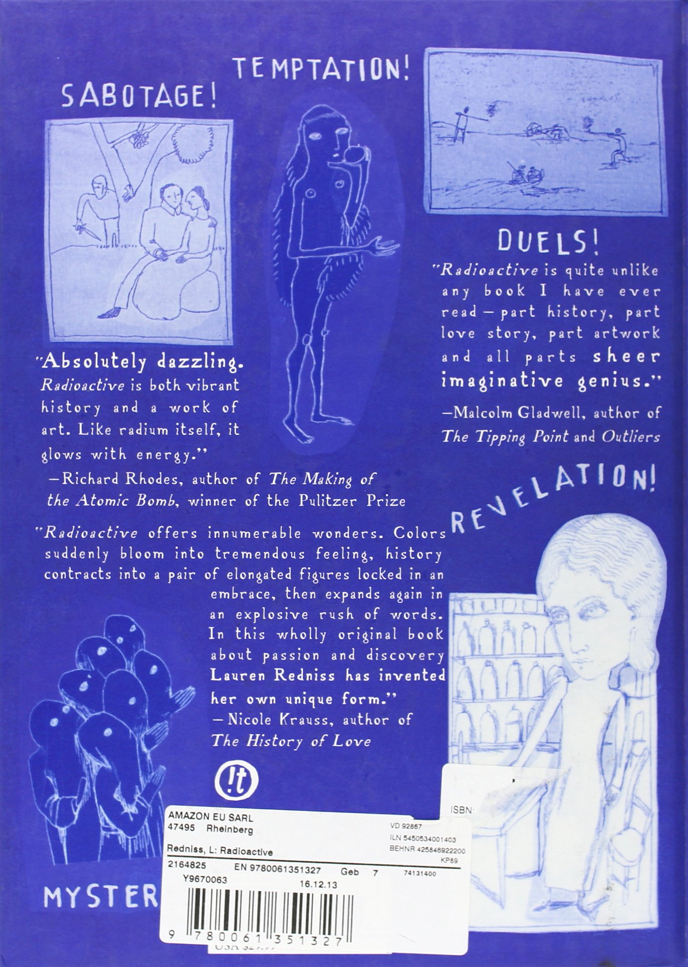 Radioactive Marie And Pierre Curie A Tale Of Love And Fallout By Lauren Redniss