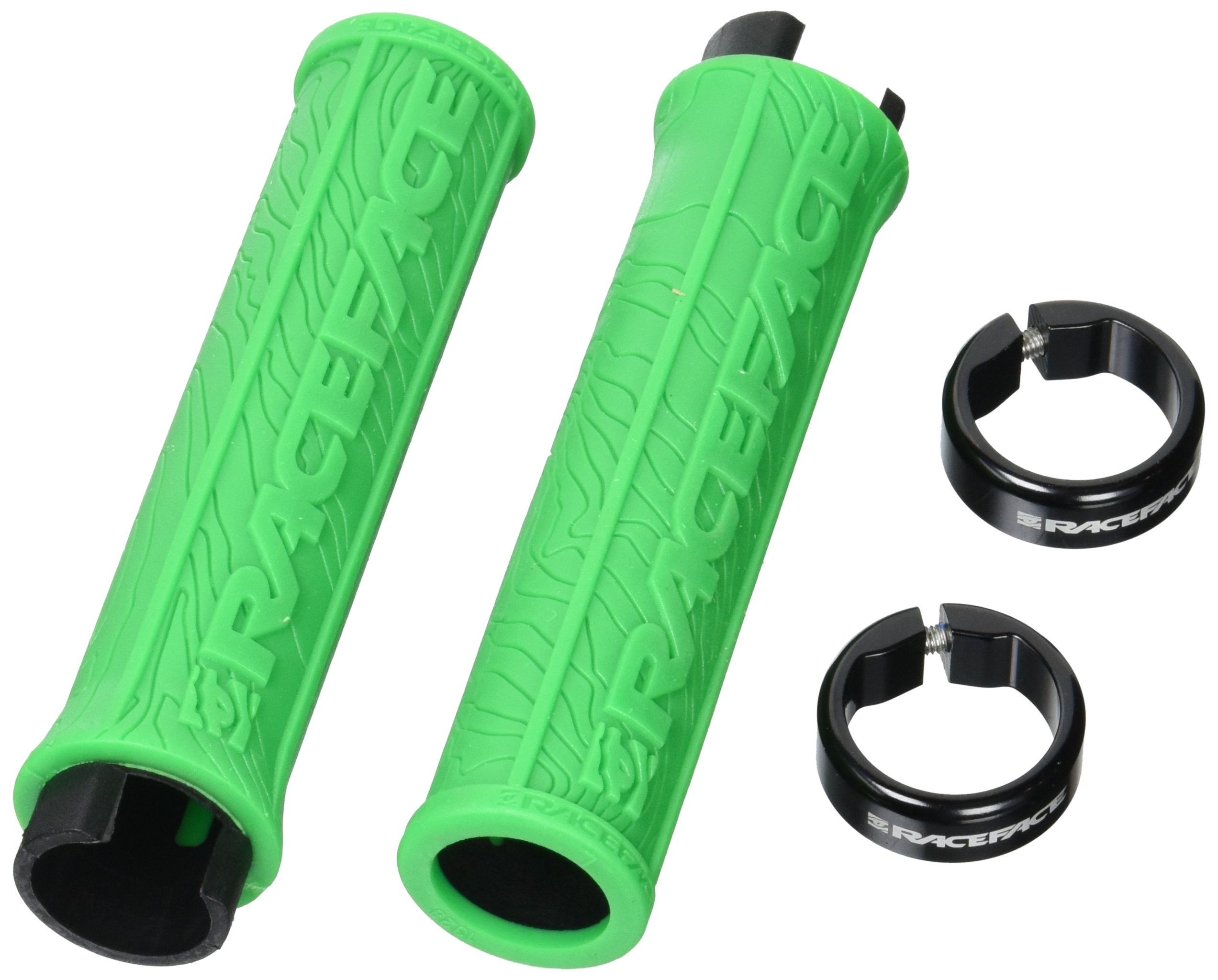RaceFace Half Nelson Locking Grip, Green by RaceFace