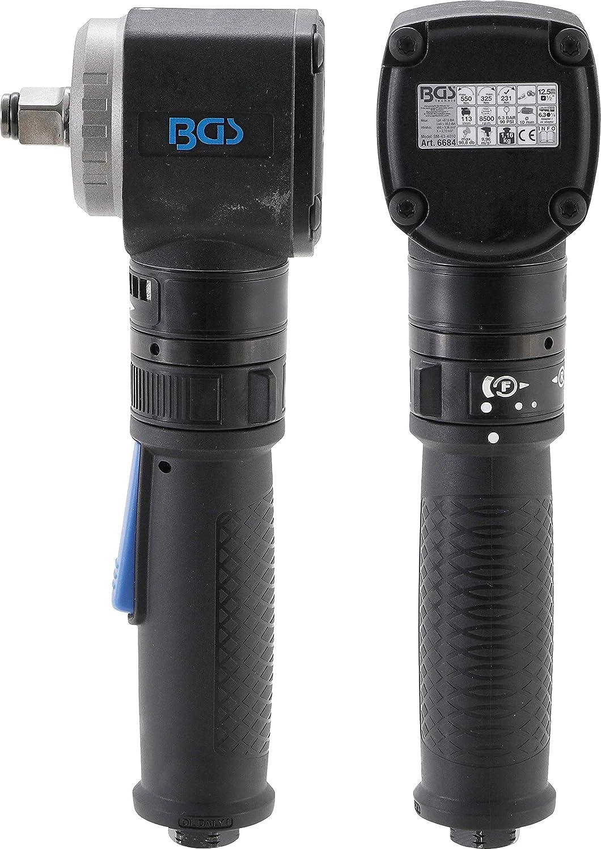 BGS 6684   Llave de impacto neumática   acodada   12,5 mm (1/2