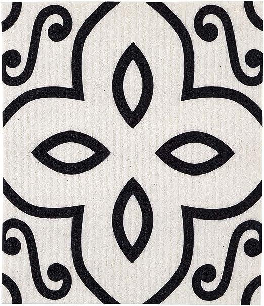 Arabesque - Paño de cocina orgánico de tela de algodón de celulosa ...