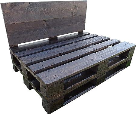 Dydaya Sofa de palets Barnizado para Interior & Exterior & Jardin & Patio Color Nogal: Amazon.es: Hogar