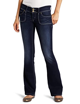 Levi s Juniors 524 Styled Skinny Bootcut Jean,Blue Diver,25 1 Medium 19d138b31d