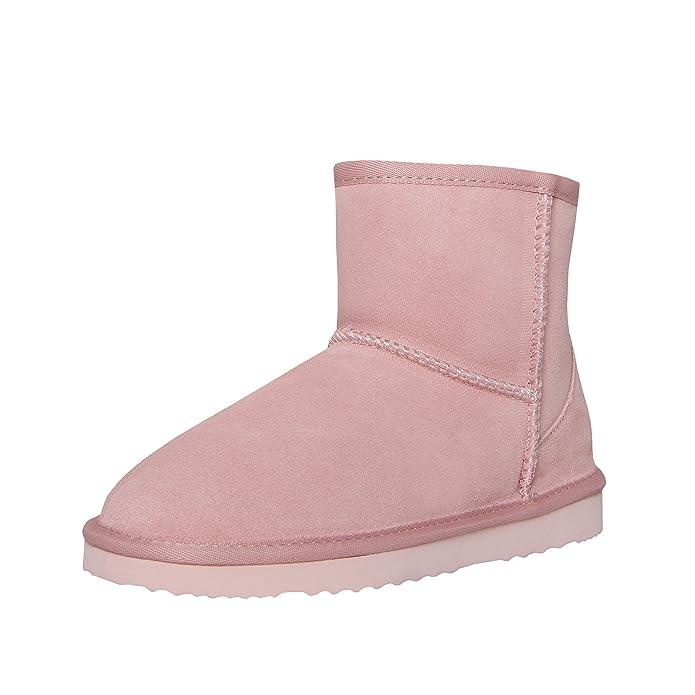 Botas SKUTARI de Cuero Italiano clásicas y Originales para Mujer, Hechas a Mano con un Agradable Forro de Piel sintética: Amazon.es: Zapatos y complementos