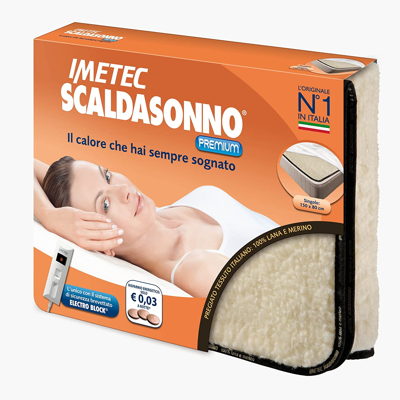 Scaldasonno Imetec Sensitive.Maxi Scaldasonno Sensitive Express Lana E Merinowool