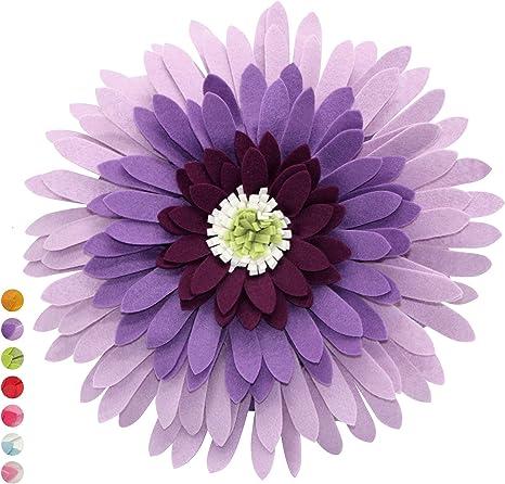Multiple Colors Contempo Lifestyles Flower Throw Pillow Hand-Made d/écor Pink 3D Flower Pillow Decorative Pillow Daisy Flower Pillow| Light Weight