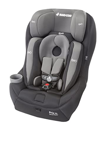 Maxi Cosi Pria 70 Convertible Car Seat With Tiny Fit Total Black Discontinued