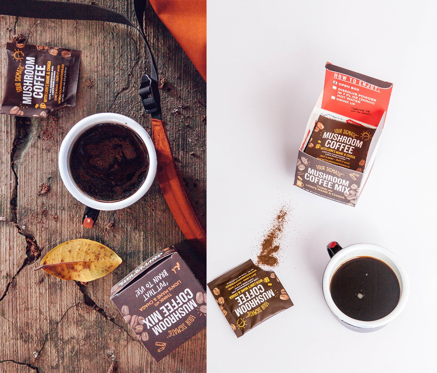 Amazon four sigmatic mushroom coffee with lions mane chaga amazon four sigmatic mushroom coffee with lions mane chaga for concentration focus vegan paleo 009 ounce 10 count amazon launchpad ccuart Image collections