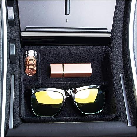 Amazon.com: JKCOVER Bandeja Flocked 2017-2019 Tesla Model 3 ...