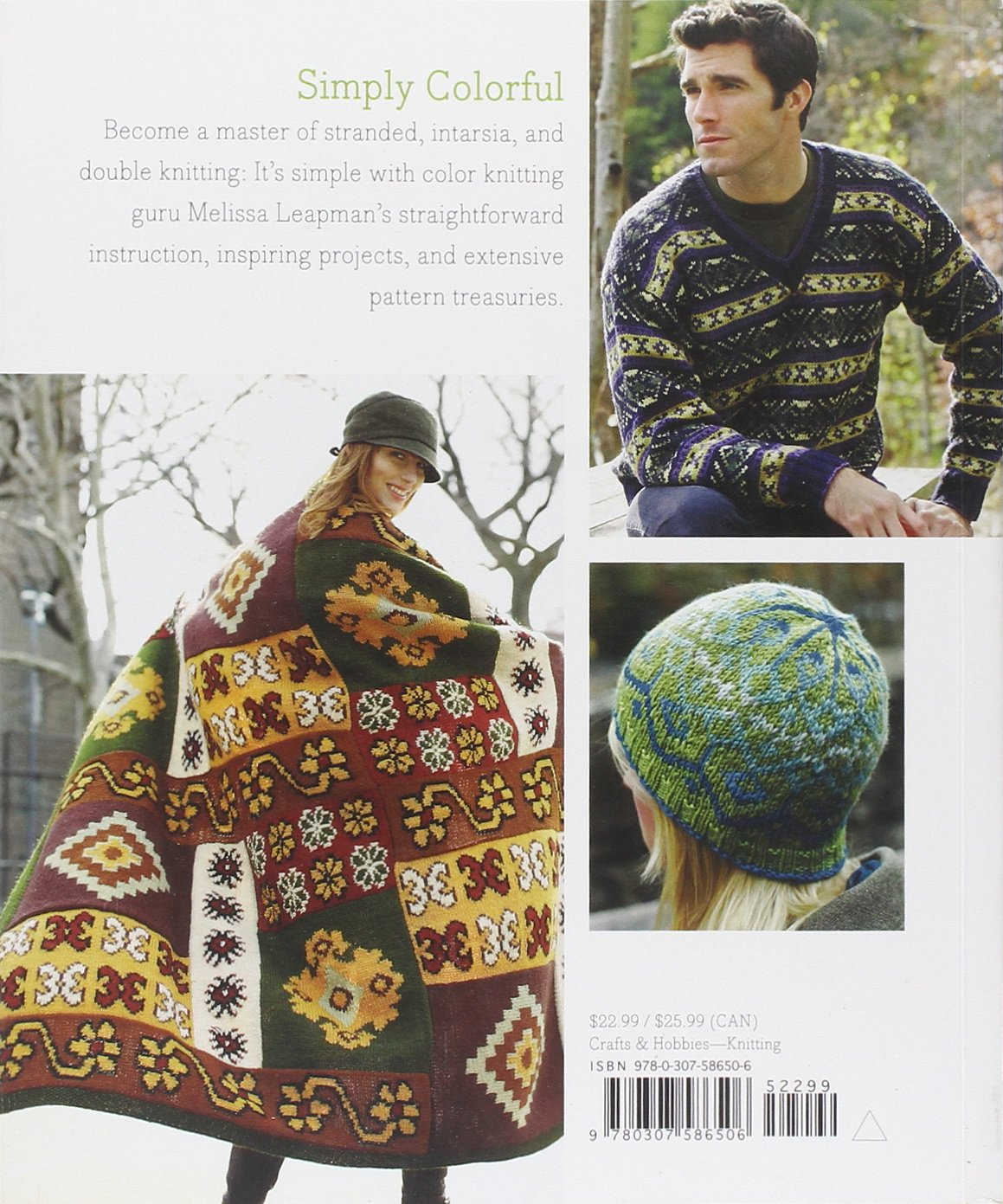 Mastering Color Knitting: Simple Instructions for Stranded, Intarsia, and Double Knitting by Heaven and Earth Designs (Image #3)