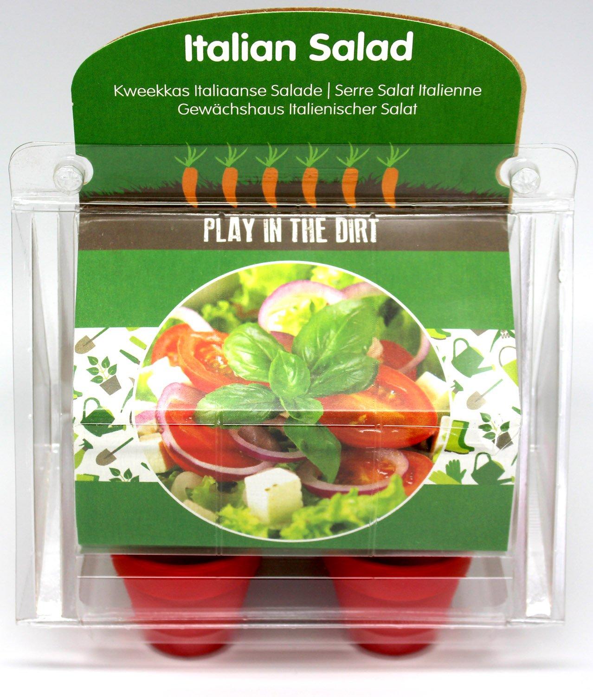 Grow our own Kleinigkeiten Anzuchttöpfe 2er Set (Tomate + Basilikum) Wohlfühlspezi