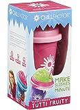 Chill Factor - Squeeze Cup Slushy Maker Tutti Fruity - Gobelet Fabrique Slush - Rose