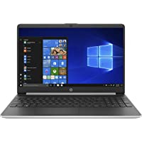 HP 15s-fq1001ne 15.6 inches LED Laptop (Silver) - Intel Core i3-1005G1 3.4 GHz, 4 GB RAM, 256 GB SSD, Intel UHD Graphics, Windows 10 Home