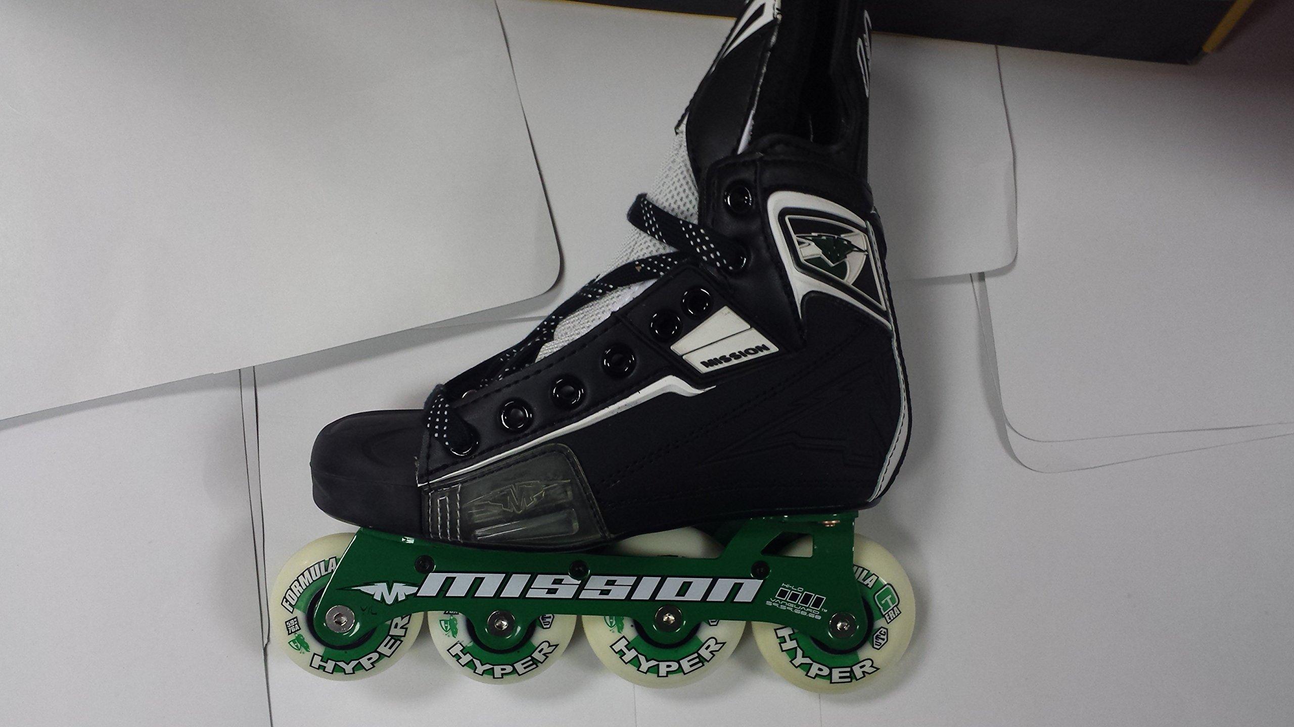 Mission Hockey DSX JR Roller Skate Size 2E