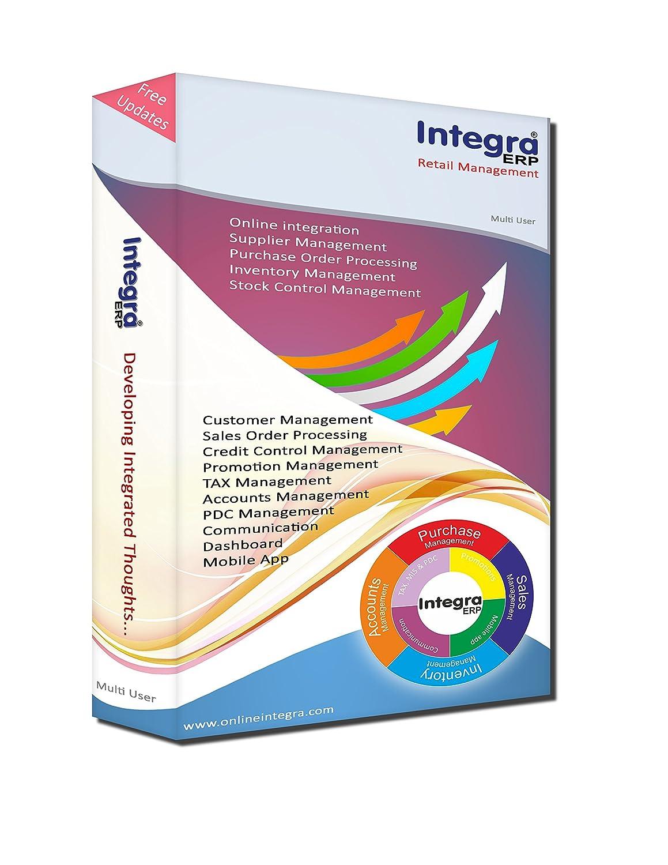 Integra ERP- Retail (Single User): Amazon in: Software