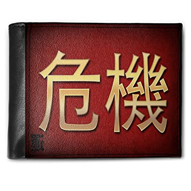 Amazon Wallet Crisis Chinese Characters Letter Red Yellow