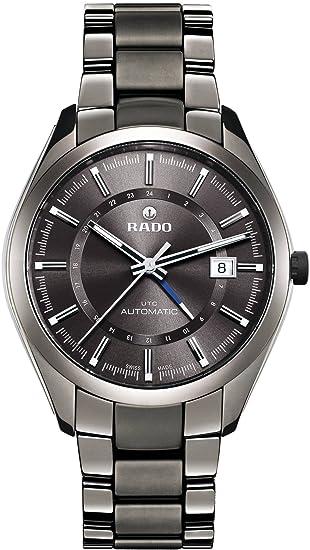 Rado Hyperchrome XL Gris Dial Gris Cerámica Pulsera y Caso Mens Reloj R32165102: Rado: Amazon.es: Relojes