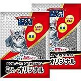 新東北化学工業 猫砂 フォーキャットオリジナル 8L×2個 (ケース販売)