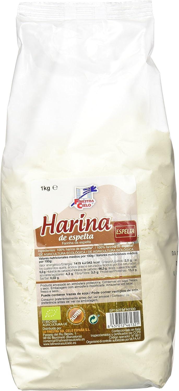 La Finestra Sul Cielo Harina de Espelta - 1000 gr: Amazon.es ...
