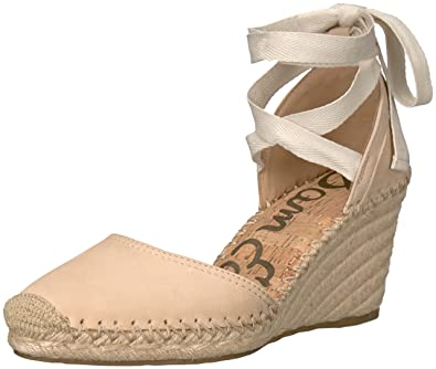 4be4d5630c5 Sam Edelman Women's Patsy, Summer Sand Nubuck Leather, 6 M US: Buy ...