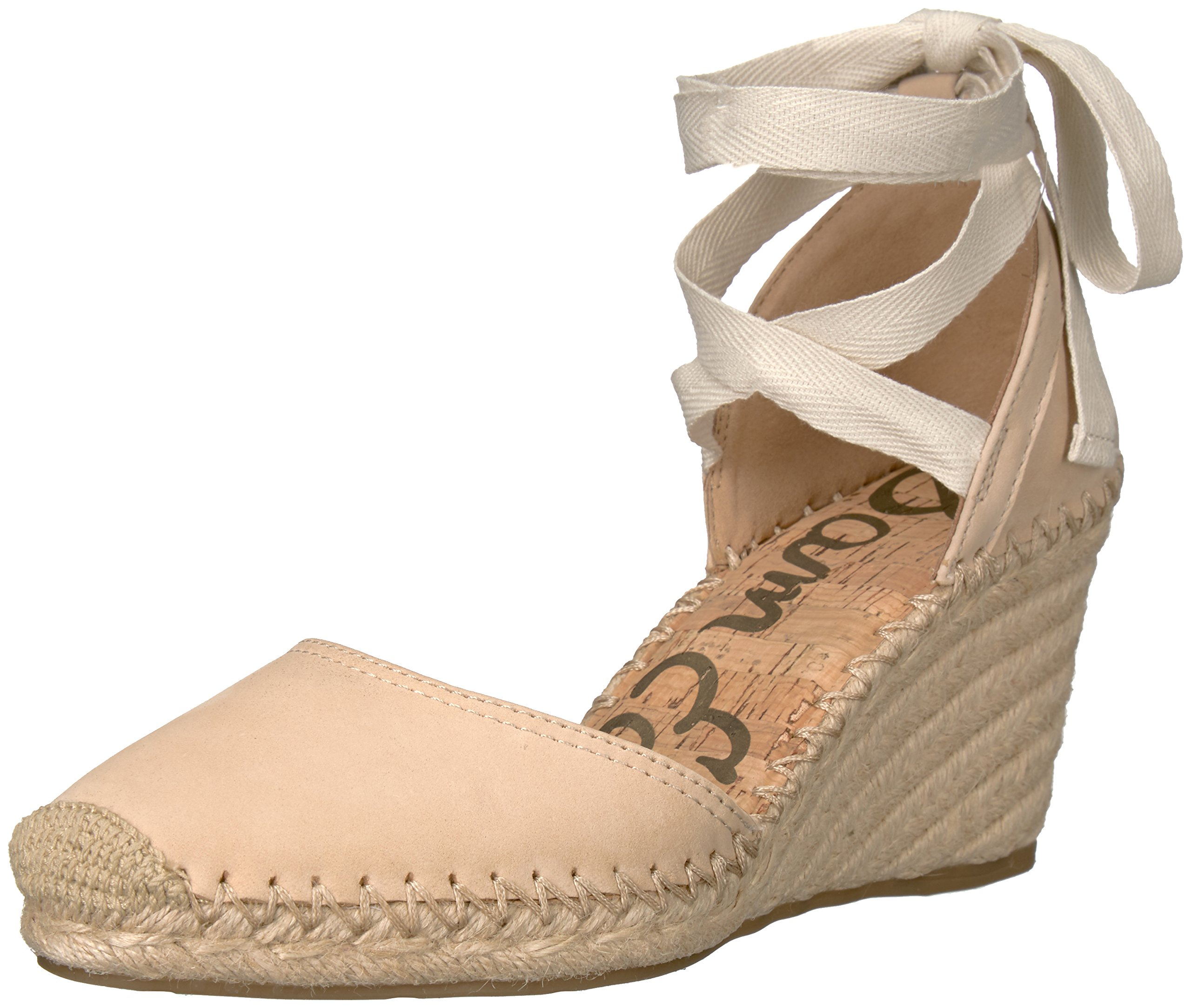 Sam Edelman Women's Patsy, Summer Sand Nubuck Leather, 8 M US