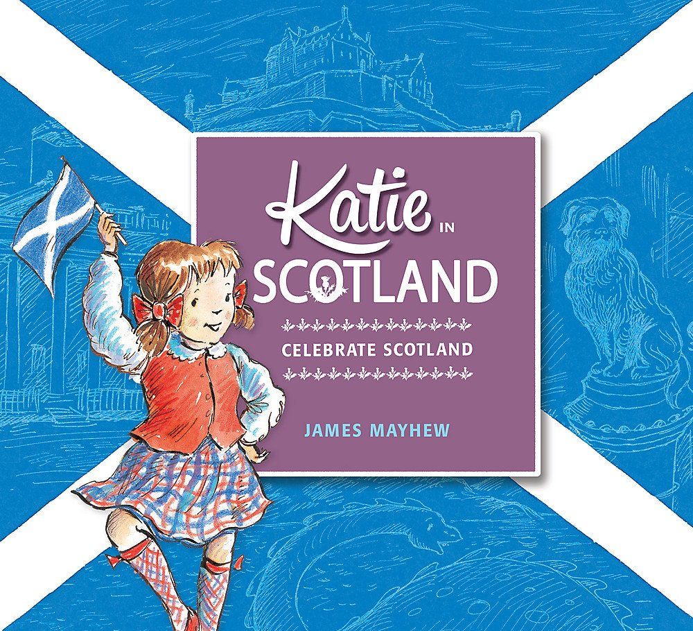 Children's Books About Countries of the World featured by top US travel blogger, Marcie in Mommyland: Katie in Scotland
