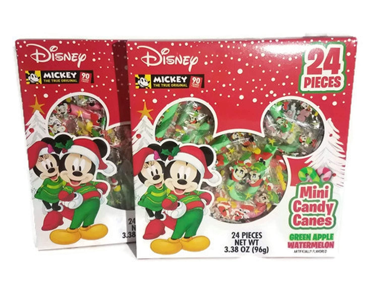 Christmas Flavors.2018 Disney Mickey Mouse Fruit Flavored Mini Christmas Candy