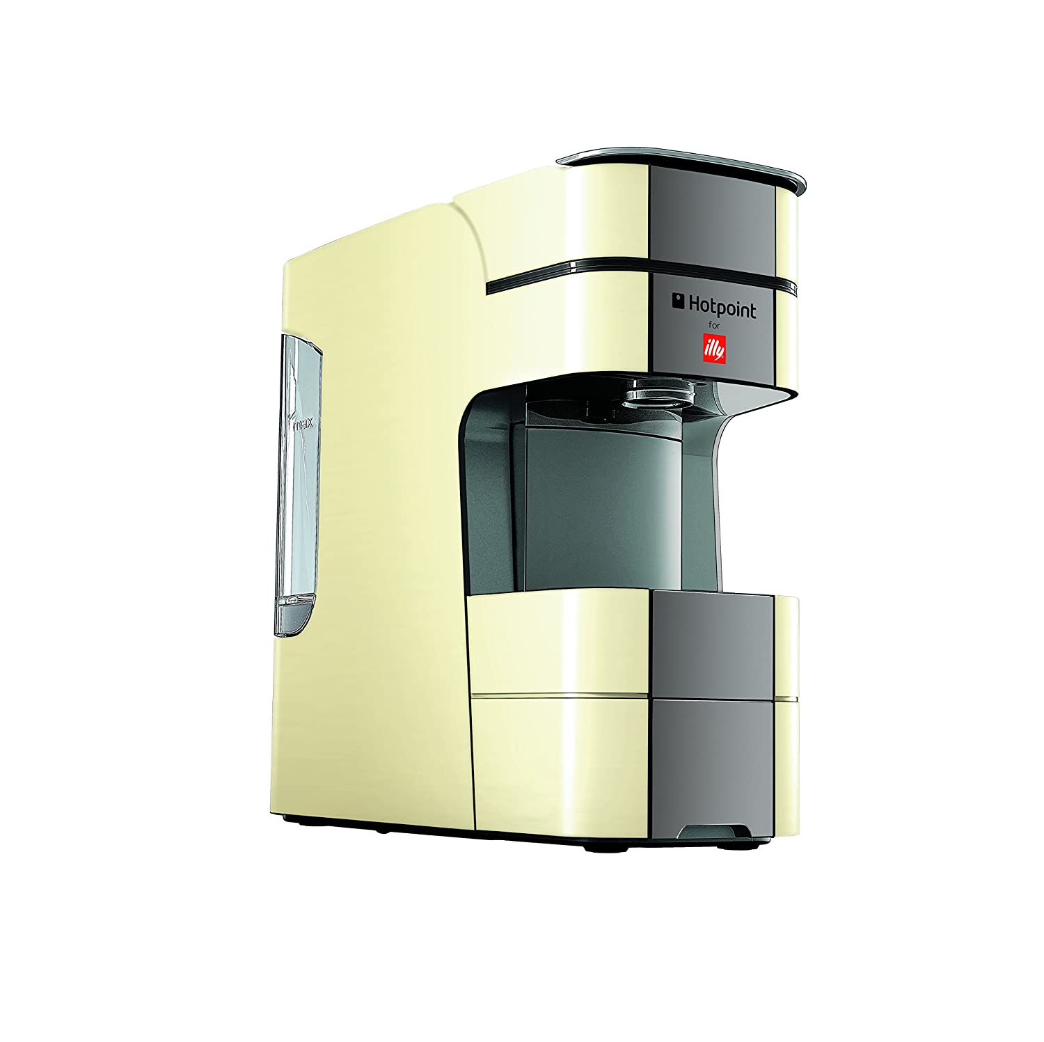 HOTPOINT Espresso Coffee Machine, 1250 W, 19 Bar, Creme CM HPC GC0 UK