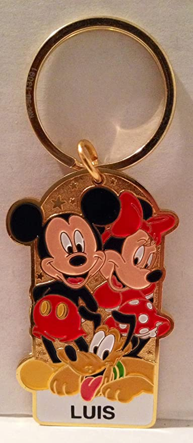 Amazon.com: Disneyland personalizado nombre cadena de clave ...