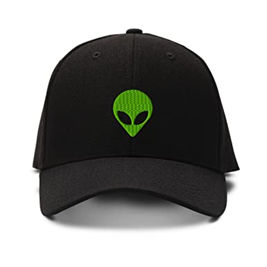 alien baseball cap pacsun nostromo embroidery adjustable structured hat black amazon