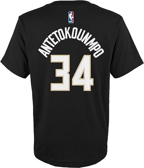adidas Giannis Antetokounmpo Milwaukee Bucks # 34 de la NBA ...