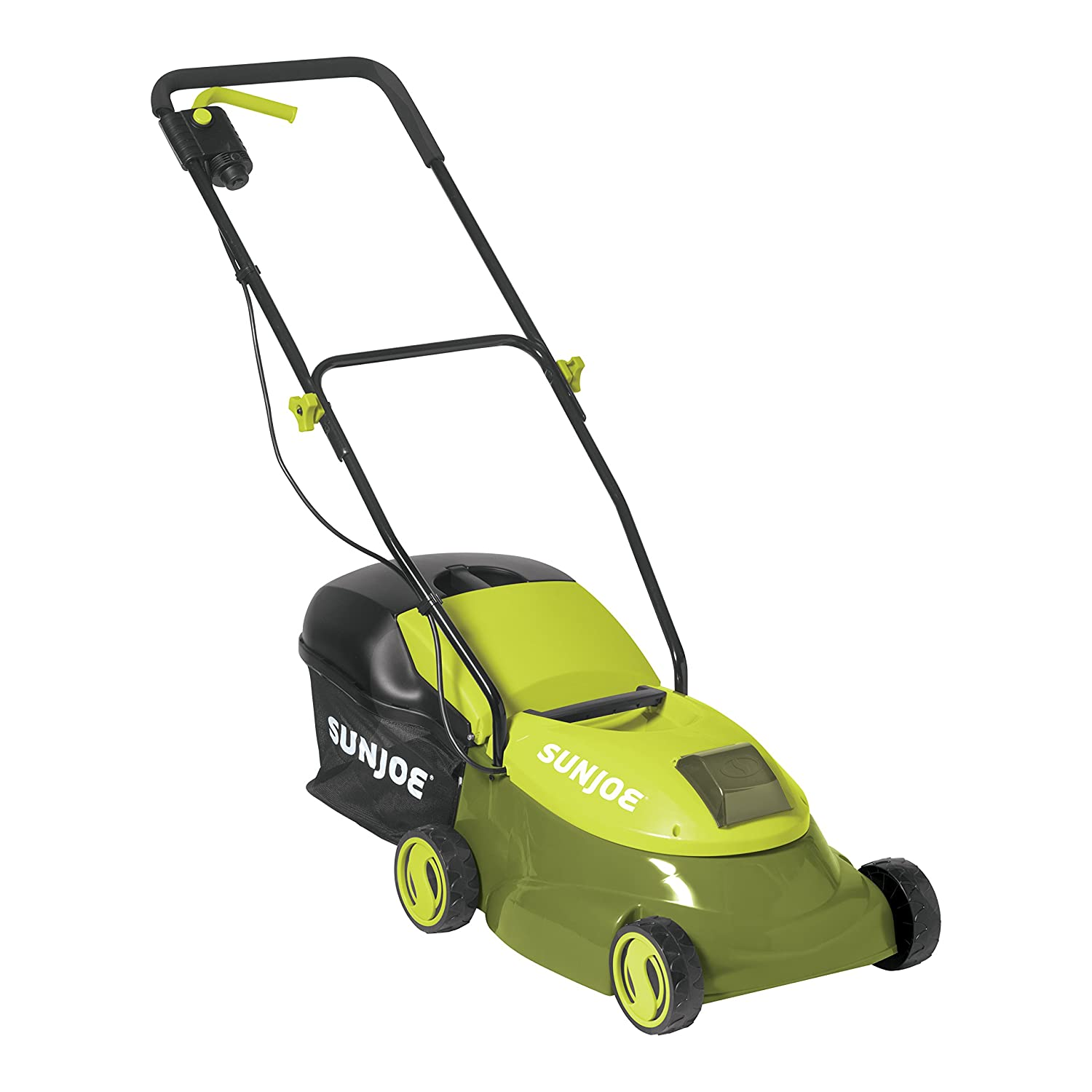 Sun Joe MJ401C 14 in. 28-Volt Cordless Electric Lawn Mower