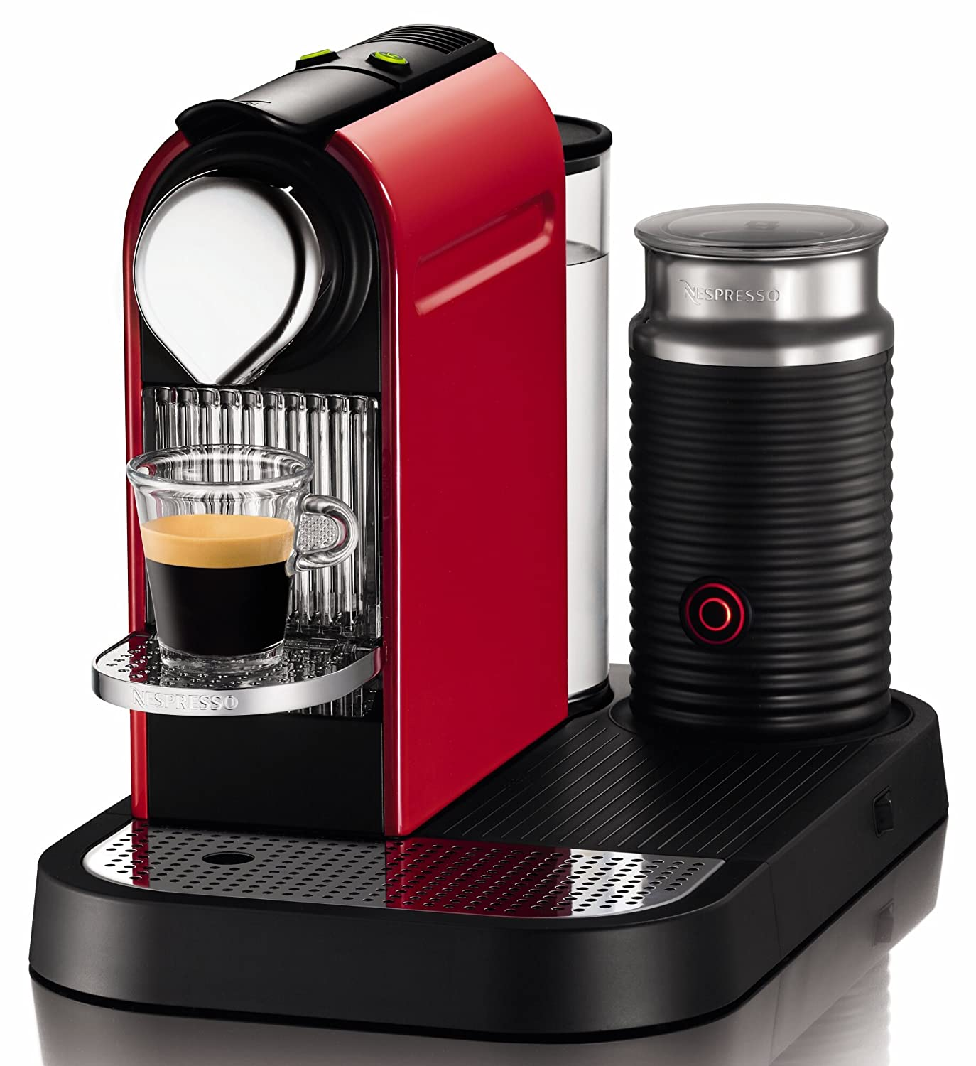 Nespresso C120-US-RE-NE CitiZ Automatic Single Serve Espresso Maker and Milk Frother