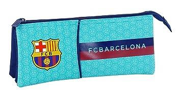 Safta Estuche Escolar FC Barcelona 2ª Equipacion 17/18 Oficial 220x30x100mm