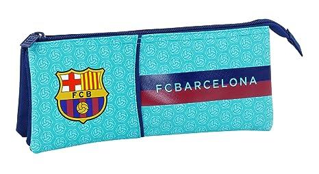 Safta Estuche Escolar F.C. Barcelona 2ª Equipacion 17/18 Oficial 220x30x100mm