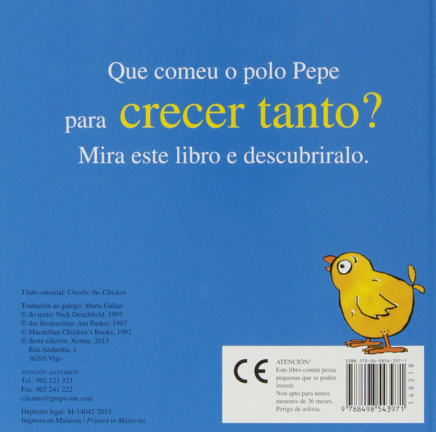 O polo Pepe: Amazon.es: Nick Denchfield, Ant Parker: Libros