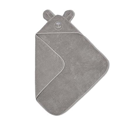 El Little Sheep Verde orgánico bebé toalla con capucha – Diseño de oso de peluche
