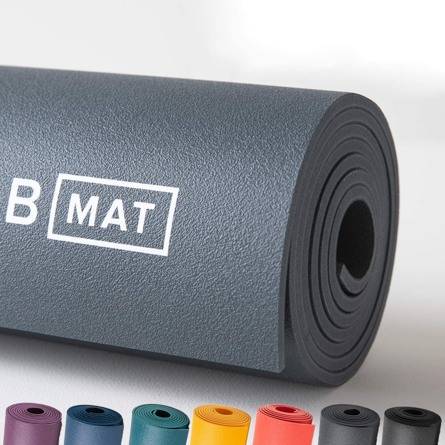 Amazon Com B Yoga Strong 6mm B Mat 100 Rubber High Performance Super Grip Non Slip Oekotex Certified For Yoga Pilates Workout And Floor Exercises 71 Or 85 Sports Outdoors