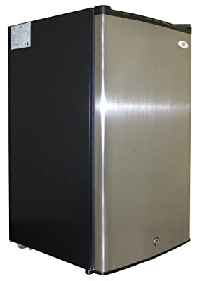 SPT UF-304SS Energy Star Upright Freezer, 3.0 Cubic Feet, Stainless Steel