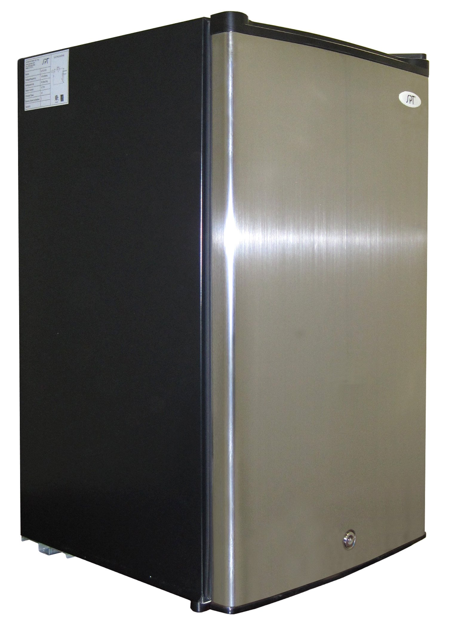 SPT UF-304SS Energy Star Upright Freezer, 3.0 Cubic Feet, Stainless Steel by SPT