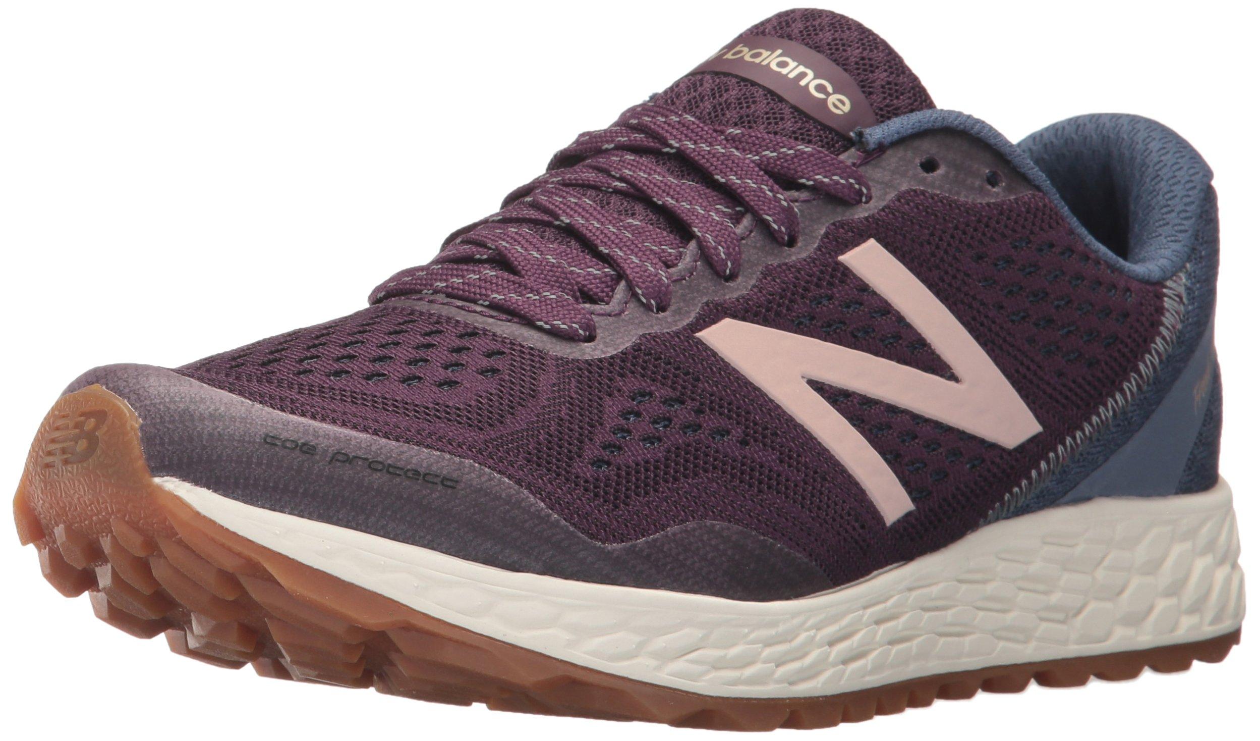 New Balance Women's GOBIV2 Running Shoe, Aubergine/Vintage Indigo, 8 B US