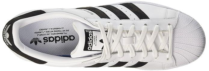 purchase cheap e3f5d 848d0 adidas Superstar, Scarpe da Ginnastica Basse Uomo Amazon.it Scarpe e borse