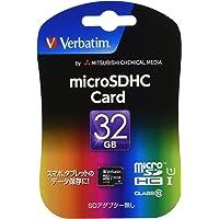 三菱ケミカルメディア Verbatim microSDHCカード32GB Class10 MHCN32GJVZ2