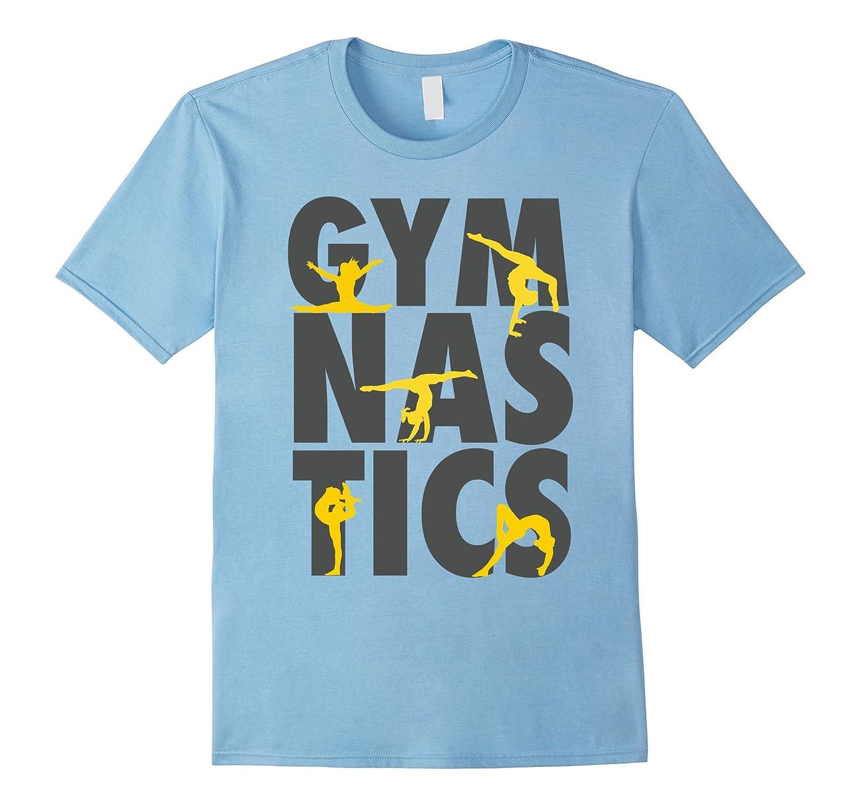 Gymnastics Awesome Gymnast Turns and Flips Girl T-Shirt