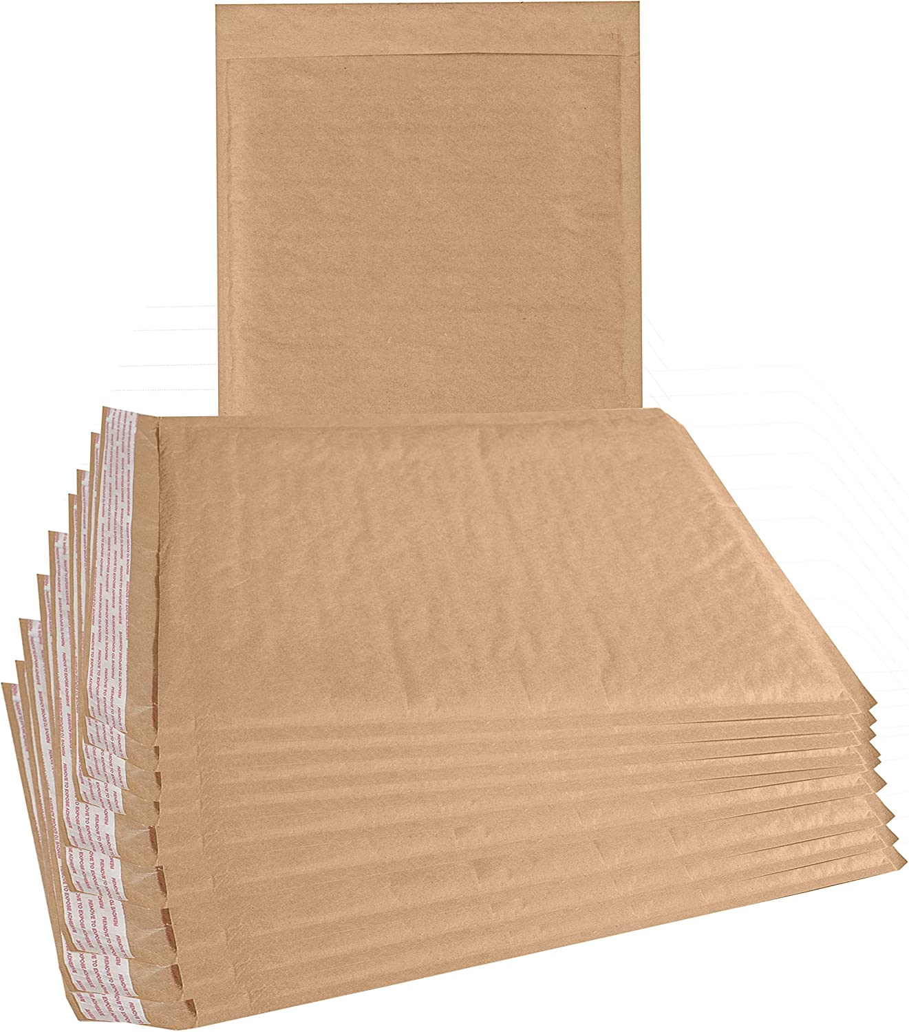 """200 #2 8.5x12 Kraft BUBBLE MAILERS PADDED MAILING ENVELOP KL 8.5/""""x12/"""""""