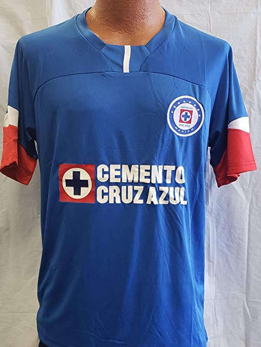 3df5f3f753e Image Unavailable. Image not available for. Color: Sport New! La Maquina De  Cruz Azul Generic Replica Jersey Adult Large 2018-19