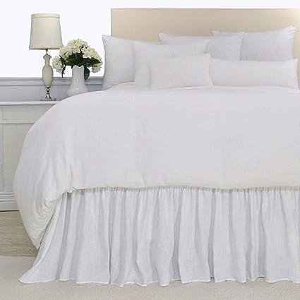 Amazon Com Luxury White Washed Flax 100 Pure Soft Organic Belgian