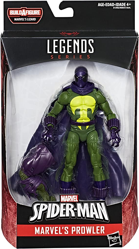 Spider-Man 6 pouces de Marvel Prowler Figure semi-transparent variante rare